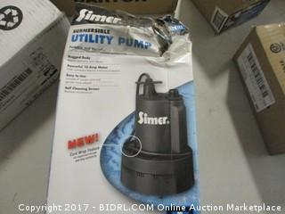 Simer Utility Pump 1/3 HP