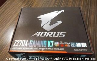AORUS Motherboard Please preview