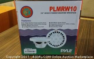 Pyle Power Marine Woofer Please Preview