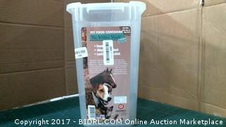 Pet Food Container Please Preview