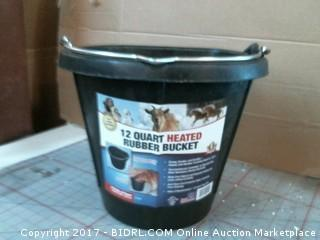 Heated Rubber Bucket Please Preview