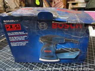 Bosch Variable Speed Random Orbit Sander Kit Please Preview