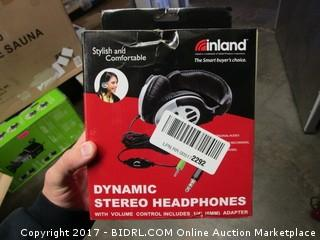 Inland Dynamic Stereo Headphones