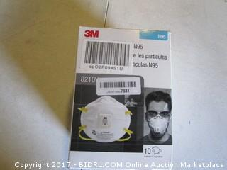 3-M N95 Safety Masks