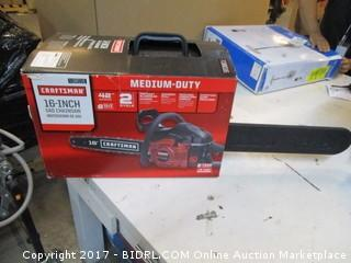 Craftsman Gas Chainsaw Please Preview
