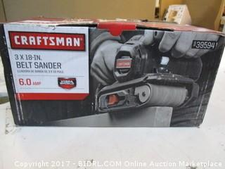 Craftsman Belt Sander Please Preview