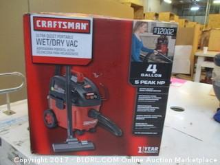 Craftsman Wet/Dry Vac Please Preview