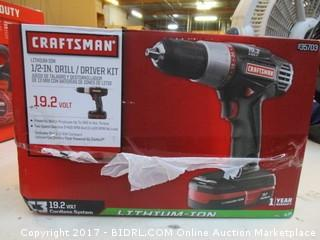 Craftsman Drill/driver Please Preview