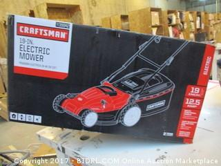 Craftsman Electric Mower Please Preview