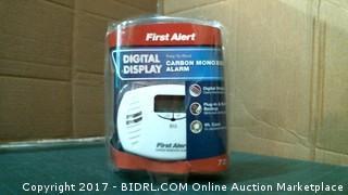 First Alert Carbon Monoxide Alarm Please preview
