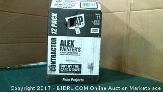 Alex Painter's Acrylic Latex Caulk Box lot