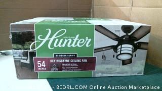 Hunter Ceiling Fan Please preview