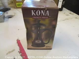 Kona French Press Please Preview