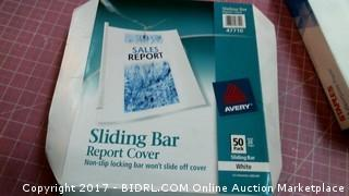 Sliding Bar Report Cover Please Preview