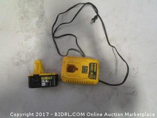 Dewalt 14.4V Battery and Charger