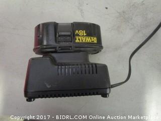 Dewalt 18V Battery and Charger