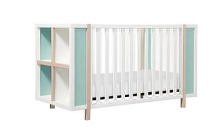 Convertible Crib and Storage Combo with Toddler Bed Conversion Kit Please preview