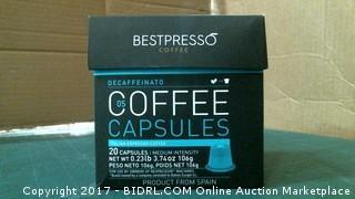 Bestpresso Coffee Capsules