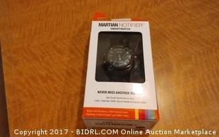 Martian Notifier Smartwatch Defective Please preview