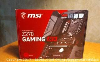MSI Motherboard Please Preview