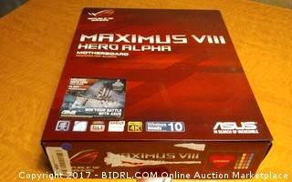Maximus VIII Hero Aloha Motherboard Please Preview