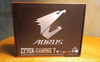 Aorus Gaming Motherboard Please Preview