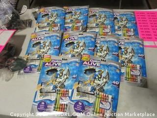 Crayola 4D Coloring sets
