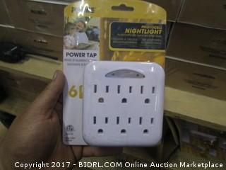 Prime PhotoCell Nightlight Power Tap