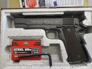 Tanfoglio CO2 Semi Auto Witness 1011 BB Gun