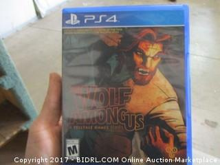 PS4 The Wolf Among Us Game