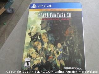 PS4 Final Fantasy XII