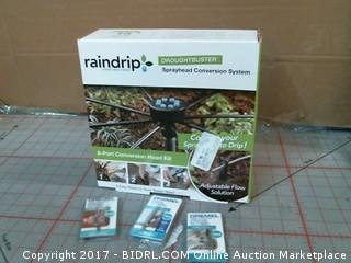 Raindrip Sprayhead Conversion System Please Preview