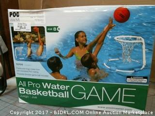 All Pro Water Basketball Please Preview
