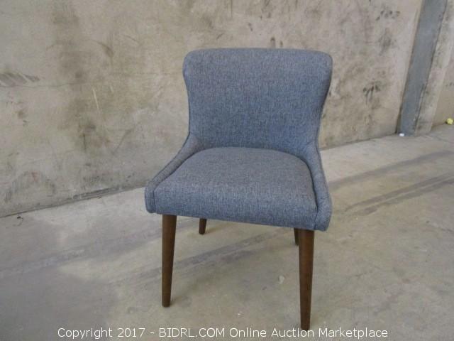 Elegant World Market Zarah Petite Wing Back Chair Grey Color Please Preview