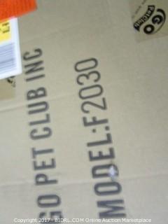 Go Pet Club Cat Tree, 80-Inch, Beige (Retail $94.00)