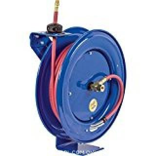 "Coxreels EZ-SH-550 Safety Series Spring Rewind Hose Reel for air/water: 3/4"" I.D., 50' hose, 250 PSI (Retail $601.00)"