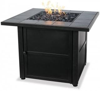 Endless Summer, LP Gas Outdoor Fire Bowl with Slate Tile Mantel (Retail $277.00)
