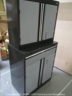 Sandusky Lee M9 Welded Garage Cabinet - INCOMPLETE SET