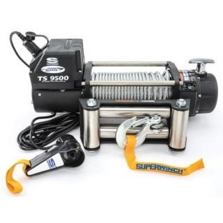 Superwinch Tiger Shark 9.5, 12 VDC winch, 9,500 lb/4,309 kg capacity with roller fairlead (Retail $349.00)