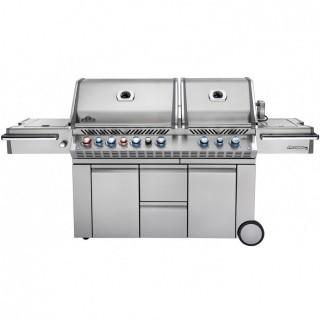 Napoleon Grills Prestige PRO 825 with Power Side Burner and Infrared Rear and Bottom Burners Propane Gas Grill (Retail $4,299.00)
