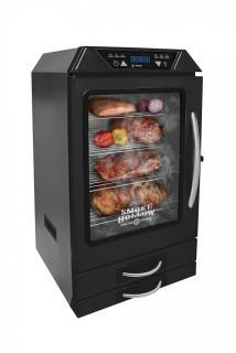 Smoke Hollow 40-Inch Digital Electric Smoker with Smoke-Tonix Bluetooth Technology, with built in meat probe,Black (Retail $451.00)