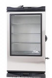 Masterbuilt Front Controller Smoker with Viewing Window and RF Remote Control (Retail $375.00)