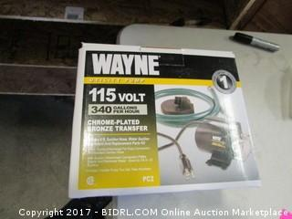 Wayne 115 Volt Utility Pump