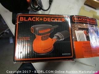 Black and Decker Orbit Sander