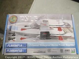 Pyle 2 Channel Waterproof Marine Power Amplifier