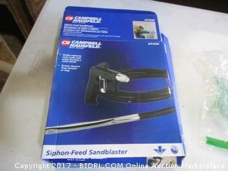 Siphon Feed Sandblaster