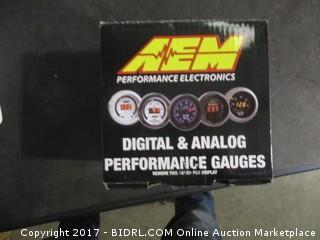 Digital & Analog Performance Gauges