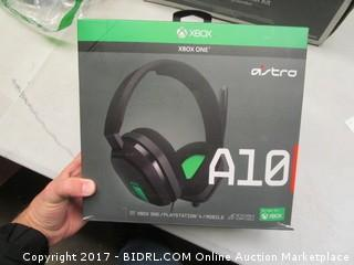 XBox One A10 Gaming Headset