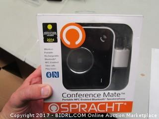 Conference Mate Portable NFC Enabled Bluetooth Speakerphone Spracht