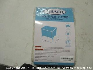 Fitted Crib Sheet for Graco Pack & Play